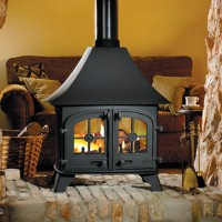 Yeoman Devon Double Sided Gas Stove High Canopy