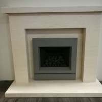 Holbeck Marble Stone Fireplace Suite