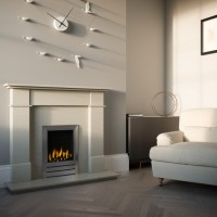 Marco Stone or Marble Fireplace Suite