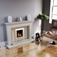 New York Stone or Marble Fireplace Suite