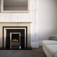 Phoenix Stone or Marble Fireplace Suite
